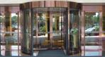 酒店旋转门系统